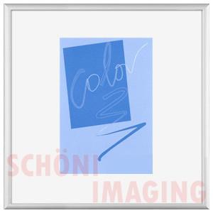 bilderrahmen alu silber matt 70x70 cm quadratisch alurahmen bilderrahmen. Black Bedroom Furniture Sets. Home Design Ideas